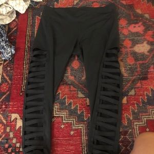 Urban Outfitters Black workout leggings size small
